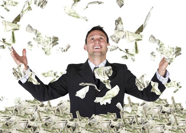 man-wiht-falling-money